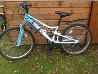 """Girls 24"""" Apollo Oceana bike."""