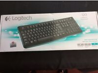 Brand New in Box K120 Logitech Keyboard