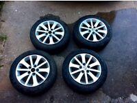 "Mazda 5 (2005-2010) 16"" Alloy Wheels with Vredestein Winter Tyres"