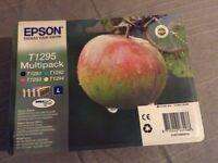 Epson Ink Cartridges T1295 Apple High Capacity Multipack