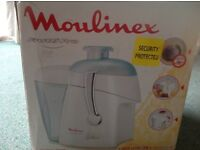 Moulinex Frutti Pro Extractor not used
