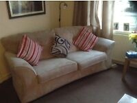 Two 3-seater sofa's