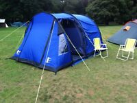 Hi gear 4 man tent, porch and extras