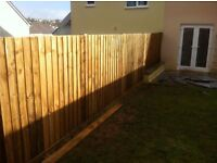 High Quality 6ft treated wood Fencing Materials and Installation for only £50 a meter in length