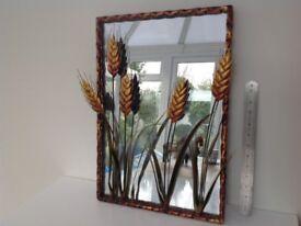 Unusual Decorative Mirror brought in France, perfect condition