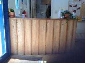 Handmade Bespoke Desk/Bar unit/Breakfast bar/Reception desk