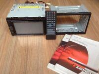 ZENEC-NE524 gps navigation system and radio