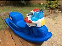 Little Tikes Police Rocker (£45 new) - sounds not working