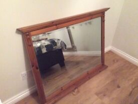 Ducal pine mirror. Beautiful statement piece ideal for over a fire place or a focal point