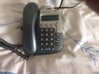 BT DECOR 3100 PHONE AND ANSWER MACHINE