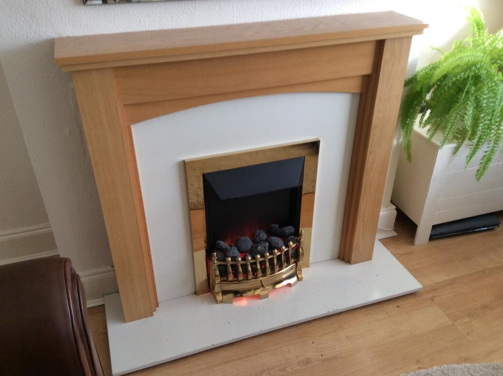 Fire surround and inset electric fire in Kingstanding  : 86 from gumtree.com size 1024 x 765 jpeg 68kB