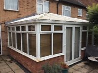UPVC conservatory for sale. Must dismantle and collect