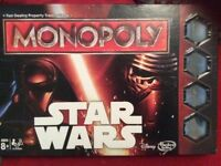 Star Wars Monopoly Brand New in Box