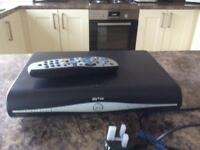 SKY HD BOX / HANDSET. AND POWER LEAD.