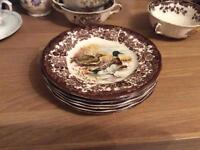 Six side plates