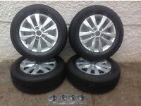 Brand new vw transporter alloy wheels
