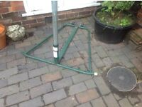 Netball stand and ring