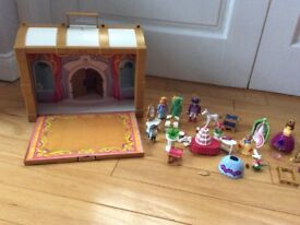 Playmobil prince and princess set