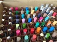 nail varnish for market or car boot