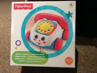 Fisher Price Chatter Telephone - BRAND NEW IN UNOPENED BOX