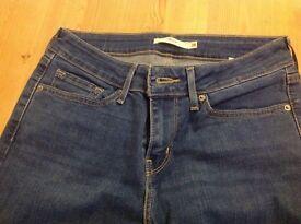 Levi jeans slim 712