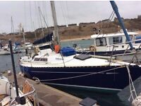 Sailing Boat, Yacht, Colvic UFO 31, (1979) REDUCED from £13500