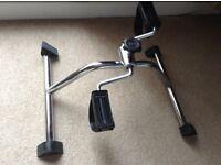 Leg exercise bike