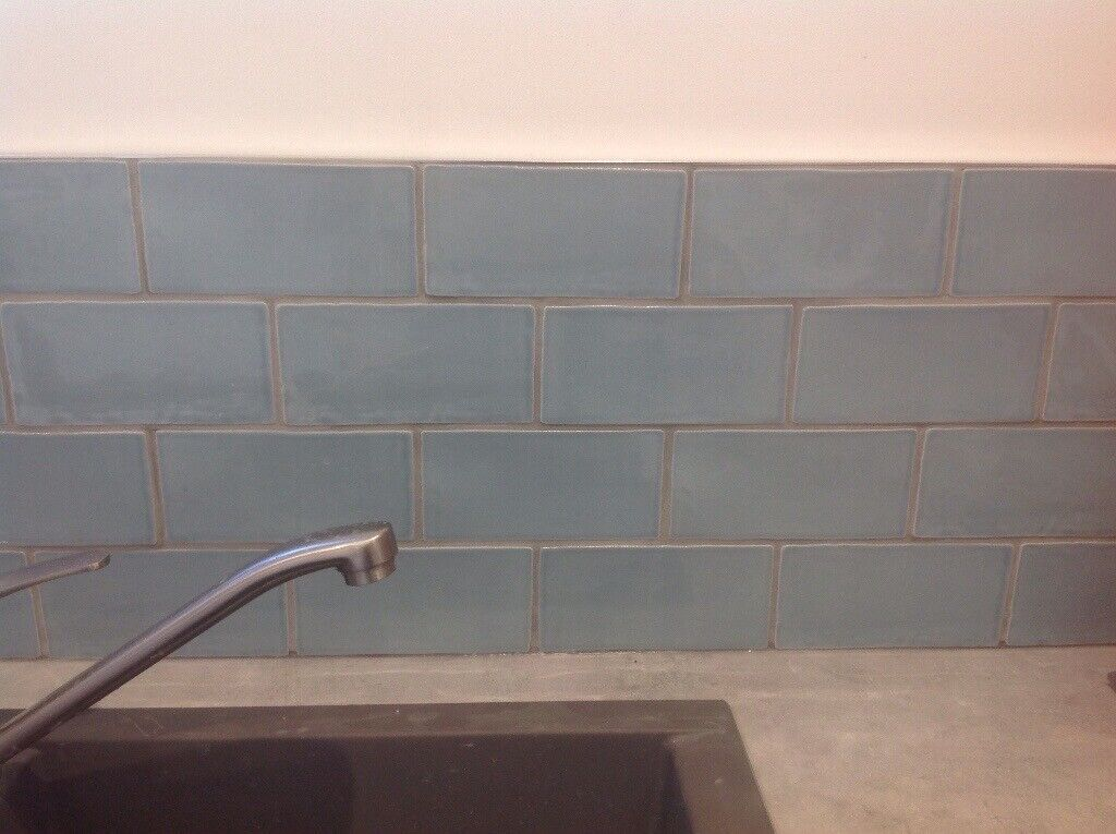 B Q Padstow Kitchen And Bathroom Tiles In Sky Blue In Poole Dorset Gumtree