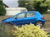 2004 Peugeot 307 for spare or repairs