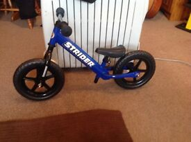 Boys balance bike Strider 12 classic - brand new