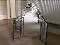 Decorative mirror - ideal for dressing table / chest of drawers
