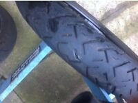 tyre 90/90/18 used condition