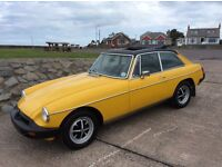 MGB GT Classic Sports Car For Sale