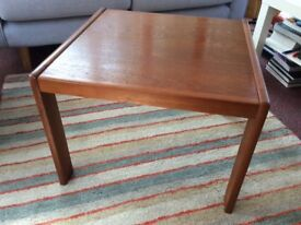 Teak coffee table 1980's