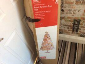 6 foot slim Christmas tree