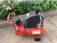 OHA Electric Air Compressor. HP 1.5 and 24 Litre tank. Excellent condition.