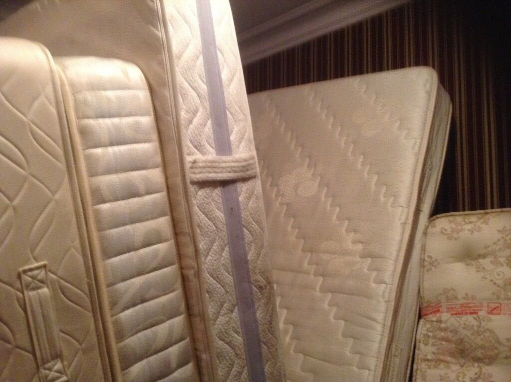 Mattresses,King,double and single,£20.00 to £85.00