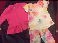 Ted baker girls set of clothes size 3-4 years . Immaculate from a smoke free home