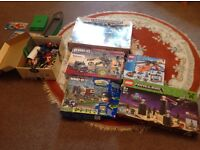 Lego minecraft city and kreo