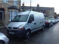 van renault master 2004 year 2,5 dieselmanual grey east london mot tax 1400pounds