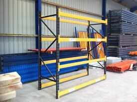 LINK 51 HEAVY DUTY INDUSTRIAL COMMERCIAL WAREHOUSE LONGSPAN PALLET RACKING BAY