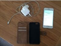 APPLE I PHONE 6 16 gb in immaculate silver