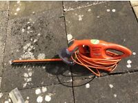 Flymo electric hedge trimmer, perfect working order.