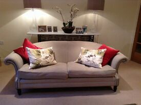 Jeffrey's interior sofa