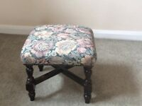 Tapestry footstool