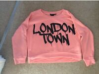 "Girls ""London Town"" sweatshirt age 9 from new look"