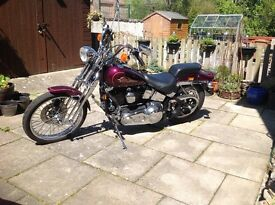 Harley Davidson FXSTS 1340 for sale, 14000mls £8000