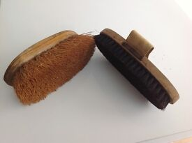 Grooming brushes suitable for pony