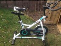 As new excercise bike