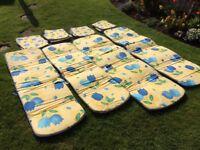 Sun lounger/recliner & chair pads